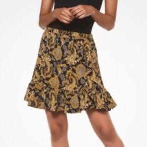 🆕 Women's Paisley Crepe Skirt by Michael Kors